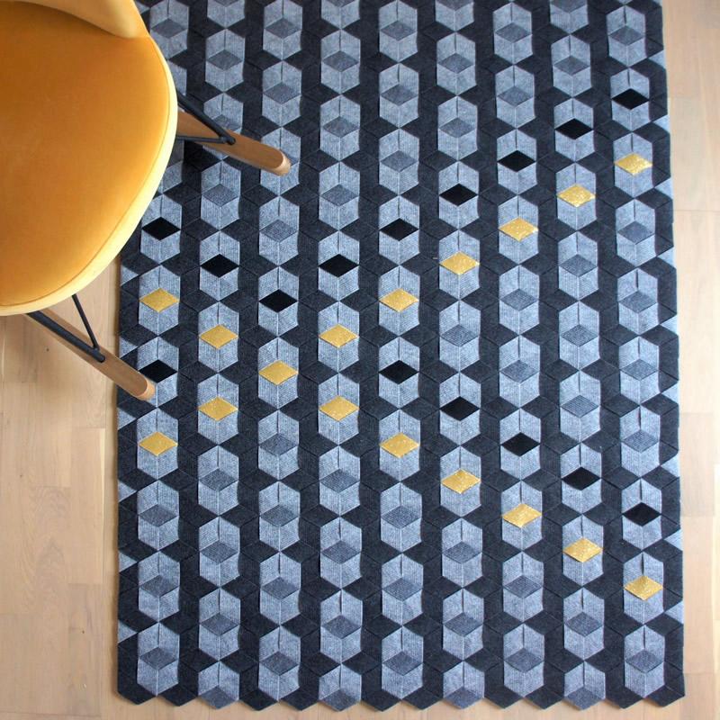 tapis sur mesure clara laubies